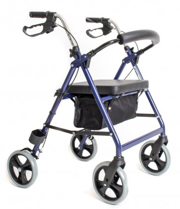 Här får du en bra rollator som är lämplig för förstagångsanvändare eller till inomhus användning