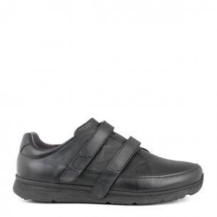 New Feet herrsko i töjbart skinn och med kardborrband