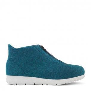 New Feet innesko i ull med kort skaft