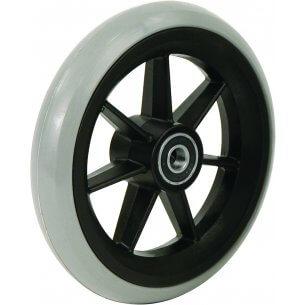 """7"""" gummihjul till framhjul på rullstol (175x27)"""