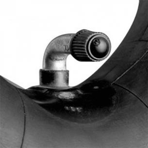 """Slange till däck på 7"""" (175x45, 90/90 ventil)"""