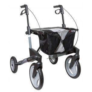 Topro Olympos har stora hjul, som är särskilt bra för utomhusbruk