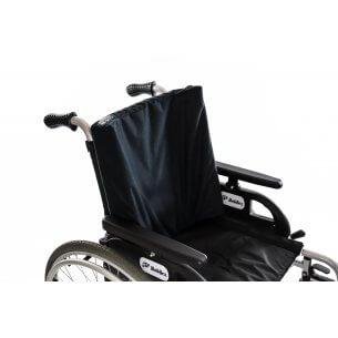 Rygpuden kan fx anvendes i en kørestol eller lænestol