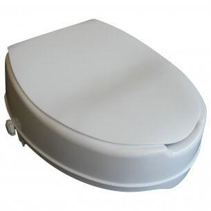 Denna toalettförhöjare passar till vanliga toaletter