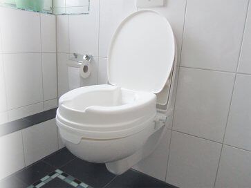 Passer til væghængte toiletter