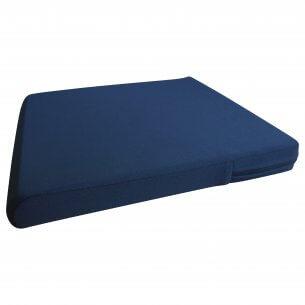 Mjuk sittkudde som passar bra till vanliga stolar