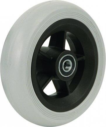 """5,5"""" gummihjul till framhjul på rullstol (140x40)"""