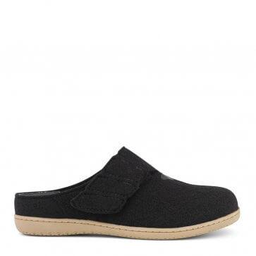 New Feet damtoffel i ull utan hälkappa