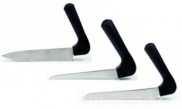 Här ser du våra ergonomiska köksknivar