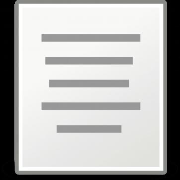 Faktura på papper