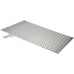 Bra aluminiumramp till dörr med 1-2 trappsteg