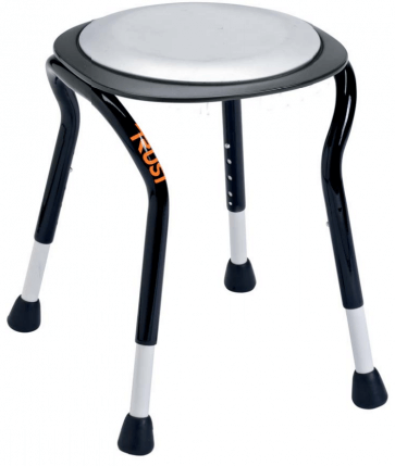 Snygg badstol med roterbar sits