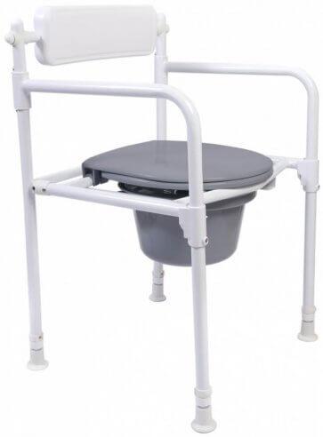 Fällbar toastol/bäckenstol.