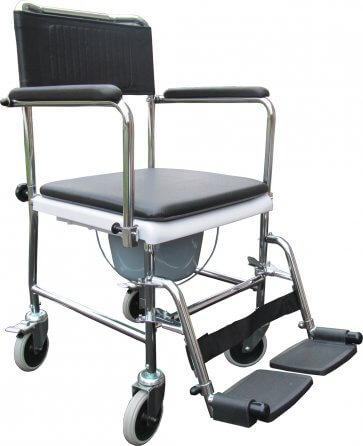 Bra bäckenstol med hjul