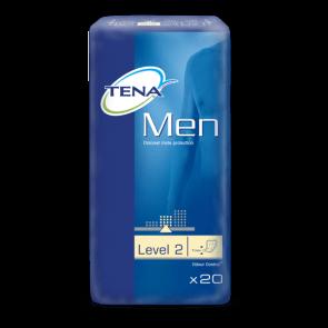 Tena, vuxenblöjor till män, nivå 2, visas i paket
