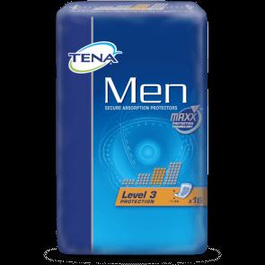 Blöjor till vuxna från Tena, nivå 3, visas i paket