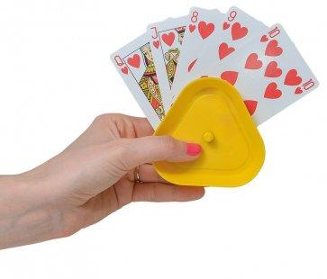 Bra spelkortshållare med 4 olika färger
