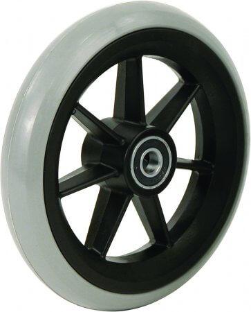 """5"""" gummihjul till framhjul på rullstol (125x26)"""