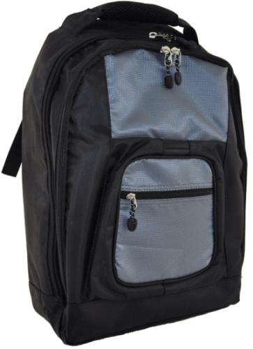 Praktisk väska som är lämplig till att hänga bak på rullstolen.