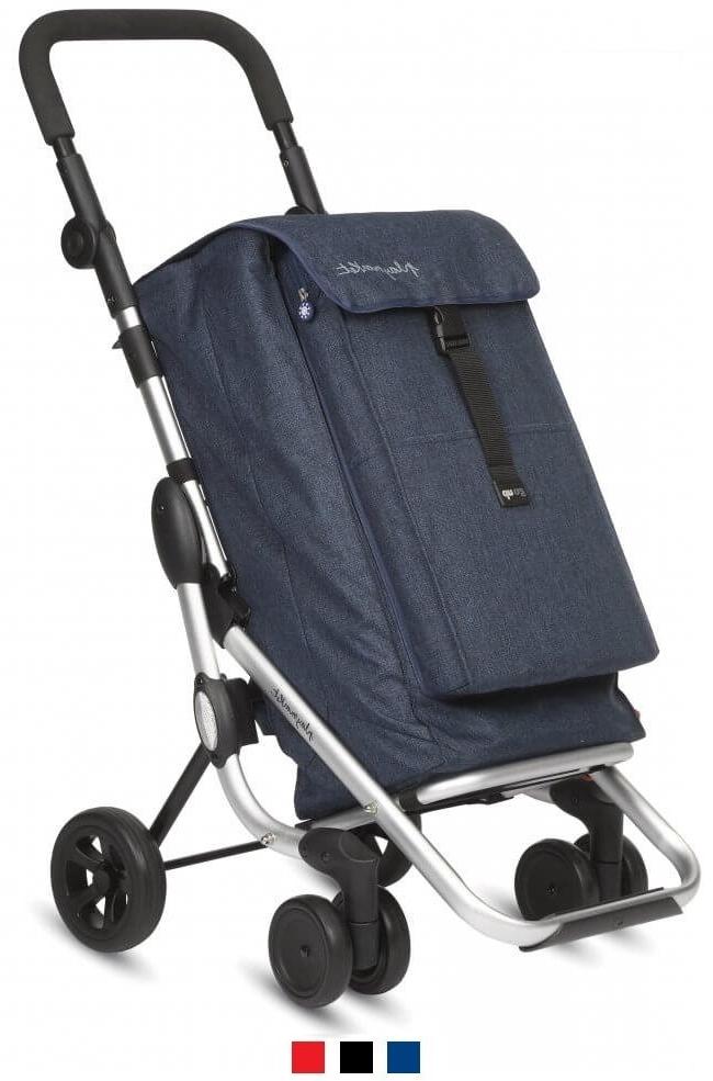 Playmarket GoUp - robust shoppingvagn med 4 hjul(fås i tre färger)